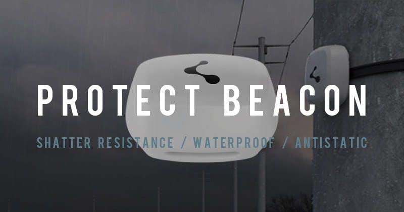 Protect Beacon 屋外使用にも耐えられるハードプロテクト設計のBeaconです