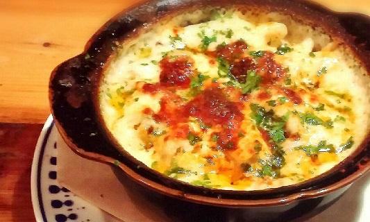 coco-bana* 秋鮭とマッシュルームのグラタン