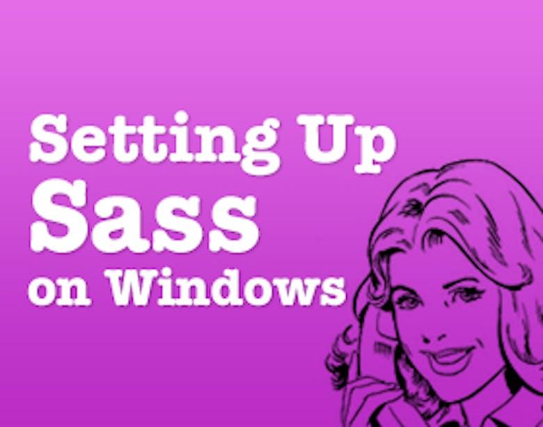 WindowsにSassを入れてみる