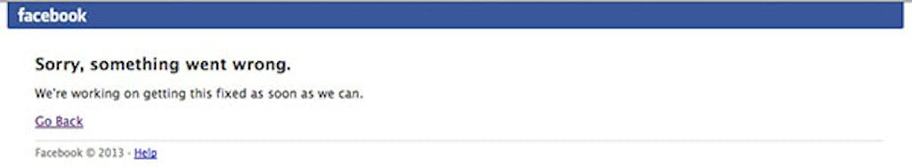 Facebook is down, how long will it be out?
