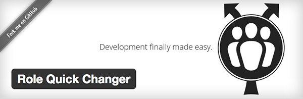 The role quick changer plugin