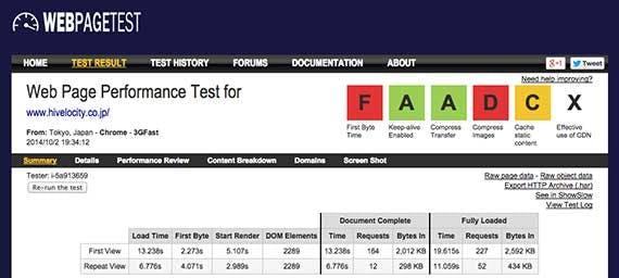 webpage-test-result