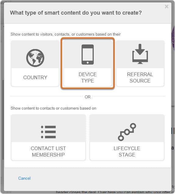 hubspot-devicetype-smartcontent
