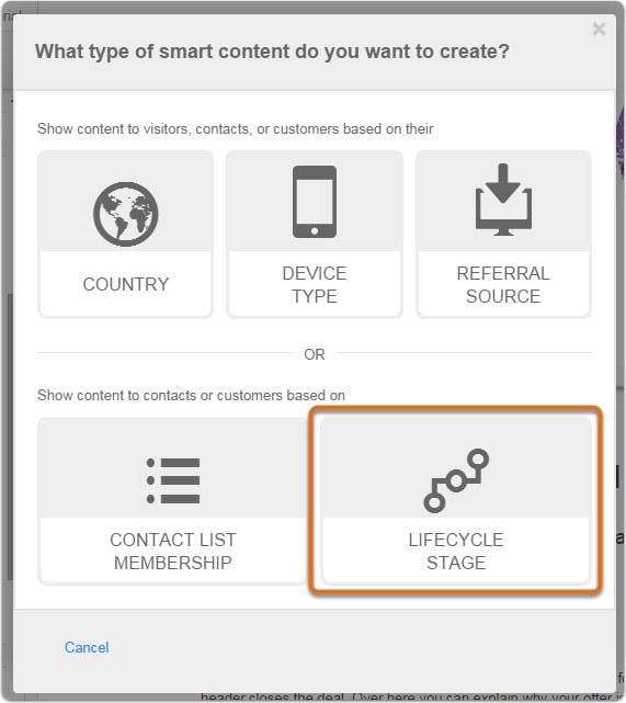 hubspot-lifecyclestage-smartcontent