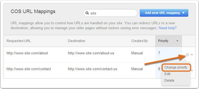 hubspot-url-mapping-priority