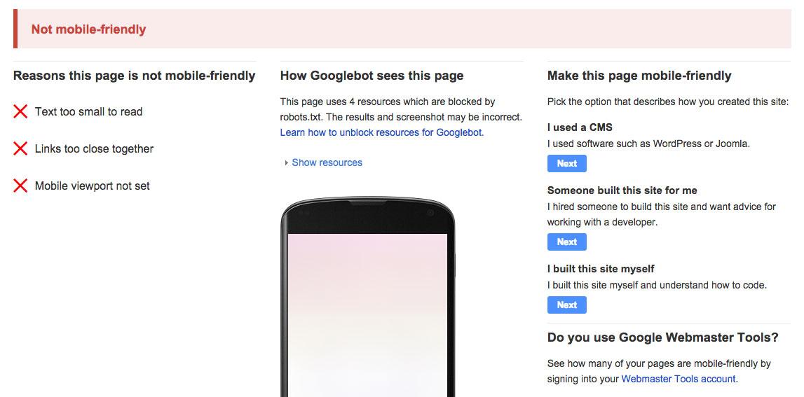 mobile-friendly-google-tool-bad