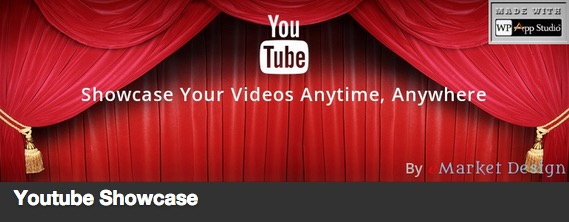 Youtube Showcase plugin thumbnail