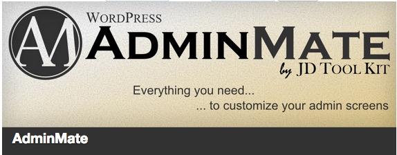 AdminMate plugin thumbnail