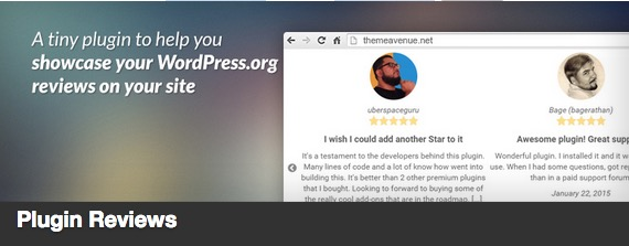 Plugin Reviews plugin thumbnail
