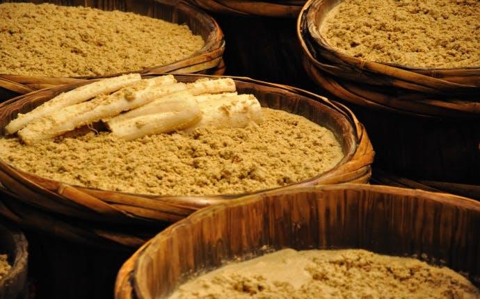発酵した漬物で腸内フローラを元気にしよう!