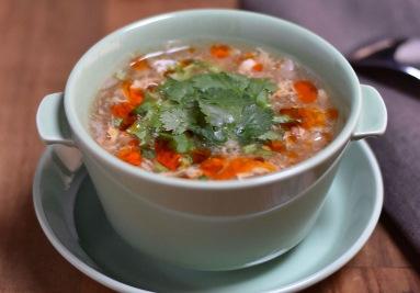 ホット&サワースープ