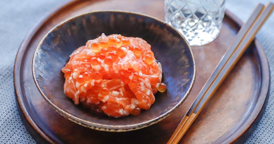 塩麹で腸内フローラを整える菌を増やす!育てる!:サーモン塩辛(鮭の石狩漬)