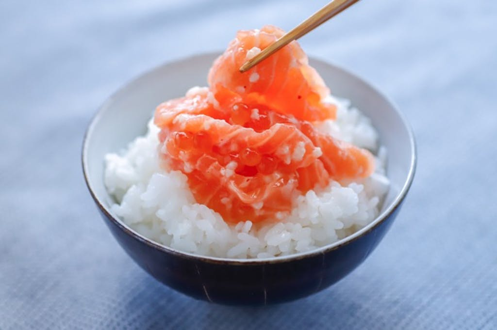 塩麹で腸内の善玉菌を増やす!育てる!:サーモン塩辛(鮭の石狩漬)