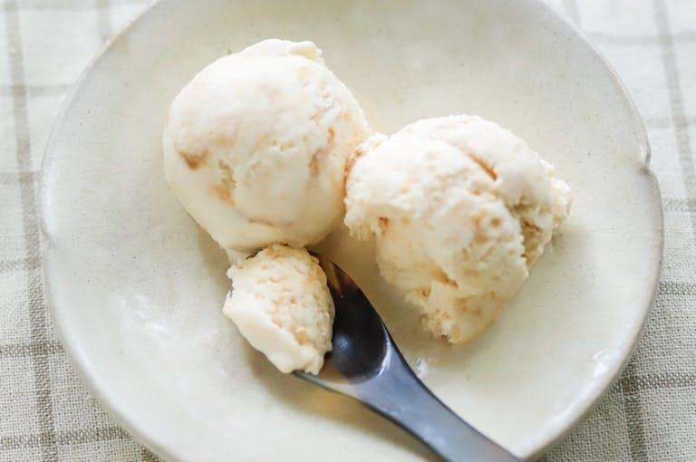 生きた発酵菌を摂れる!「生味噌」のスイーツレシピ:味噌ミルクアイス