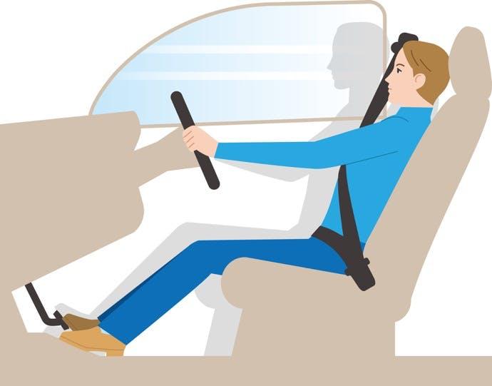 事故などにより車内で発生する、「サブマリン現象」とは?
