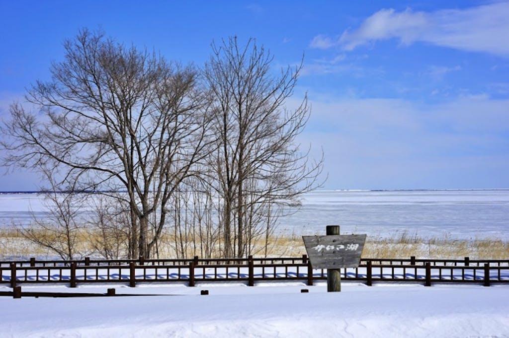 静けさただよう冬にしか、見られない絶景を!「冬の湖ドライブスポット」