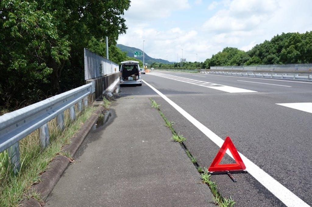 高速道路でのバーストに注意!その要因と予防策は?