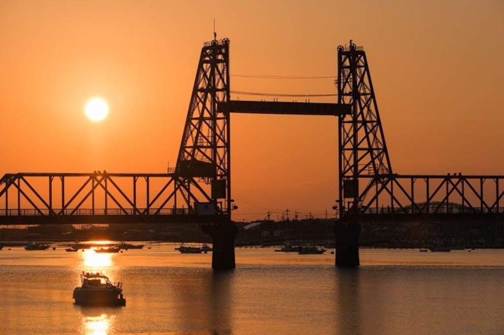 密を避けるドライブスポット!「可動橋」を渡りにドライブへ行こう!②