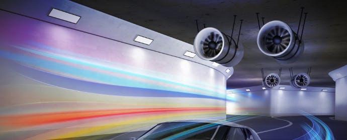 換気以外にも役割いろいろ!トンネル天井で見かける、ジェットファンとは?